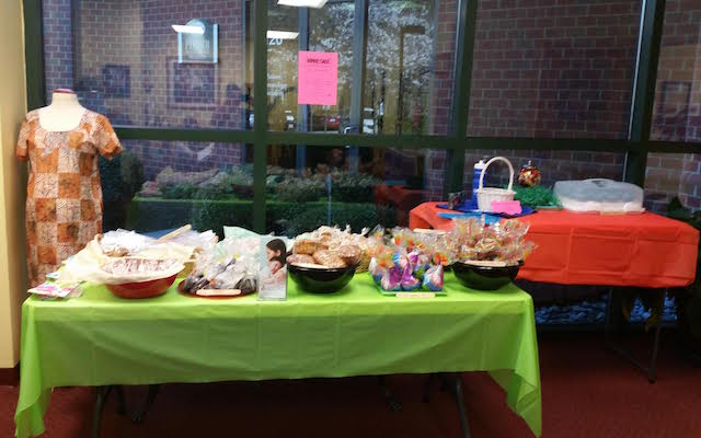 Walk 4 Life Bake Sale